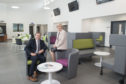 07/08/19 Councillor Jenny laing and Councillor Douglas Lumsden were given a tour of the new Tillydrone Campus