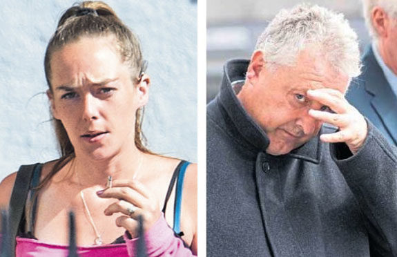 Frank James was jailed for nine months and Michelle Wood was handed an unpaid work order