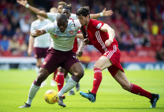 The Dons will face Hearts at Pittodrie on April 3