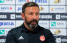 Aberdeen manager Derek McInnes addresses the media ahead of his side's Europa League tie against HNK Rijeka.