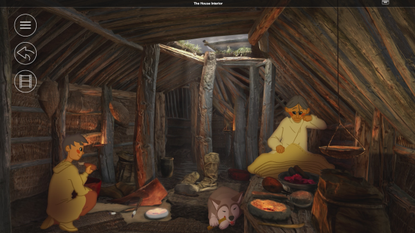 A screenshot from the software