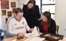 The Cabinet Secretary for Communities Aileen Campbell visited Aberdeen Foyer