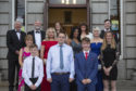 Some of the award nominees in the spotlight at the third annual Pride of Inverurie ceremony