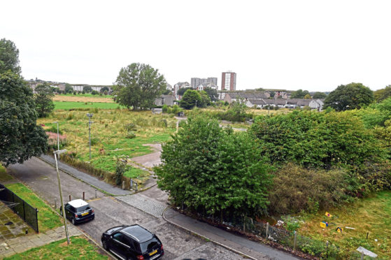 The site of the former St Machar Primary School