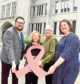 From left, Nathan Sparling, Dr Daniela Brawley, Colin Stewart and Cllr Sarah Duncan