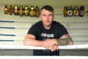 Boxing champion Lee McAllister plans to hold a huge party once lockdown has been lifted.