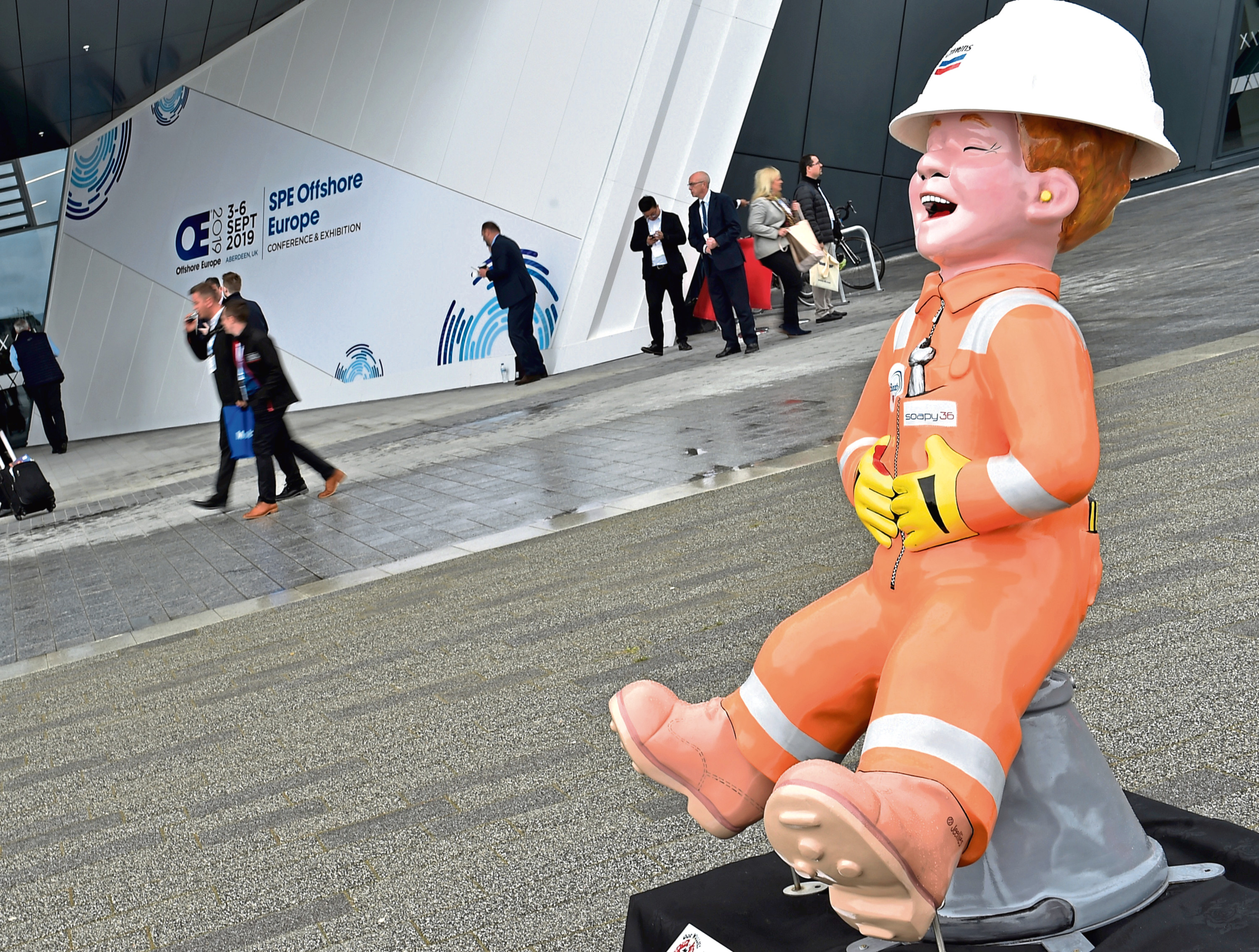 Oor Wullie at Offshore Europe