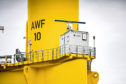 One of the radars that is being used in the study. Credit: Vattenfall/ TVP Media