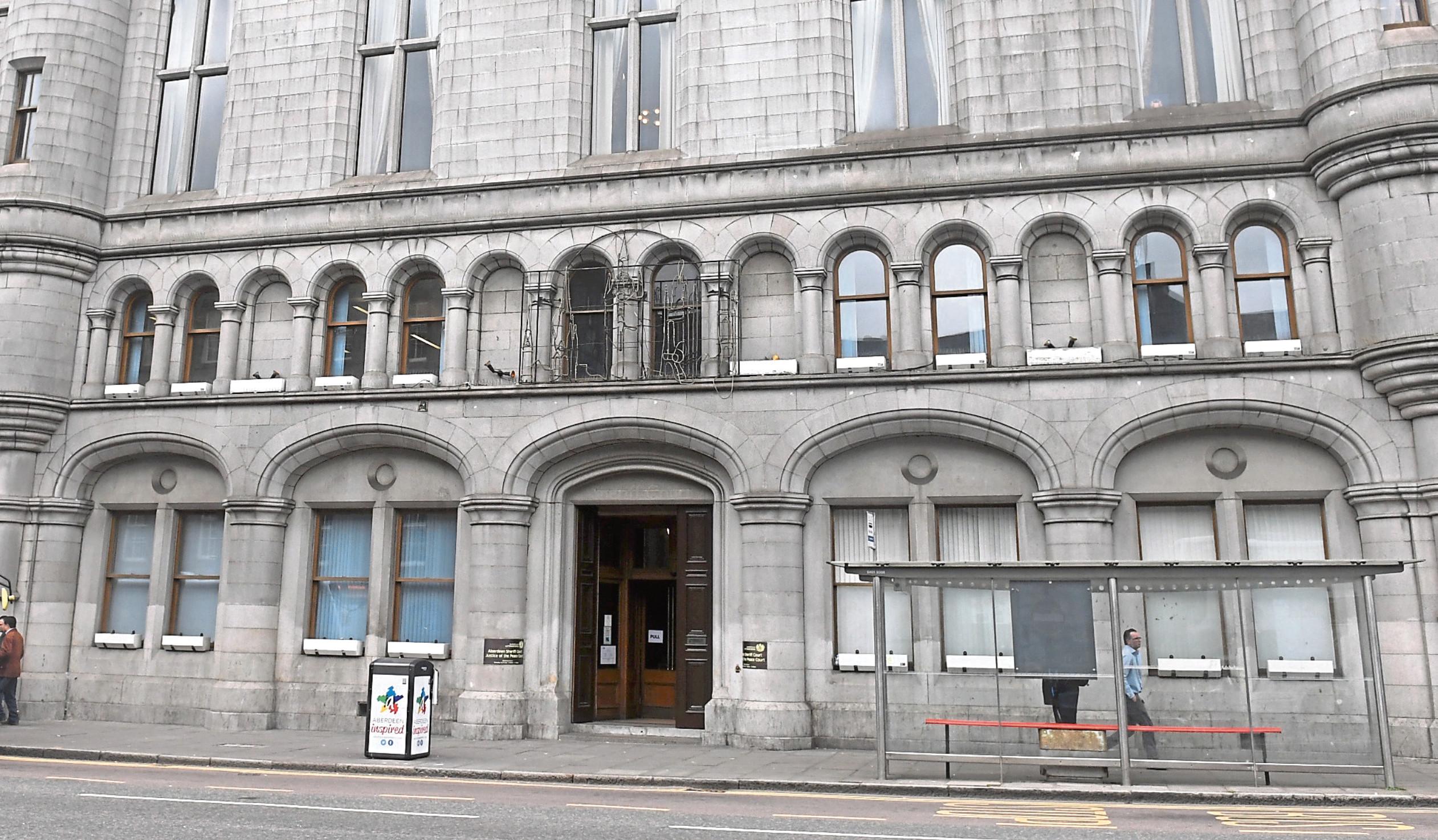 Krzysztof Peter appeared at Aberdeen Sheriff Court