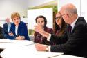 Nicola Sturgeon and John Swinney announced the new Peterhead campus would be part of a £1 billion spending plan