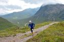 Mark Calder during the Devil o' the Highlands Footrace