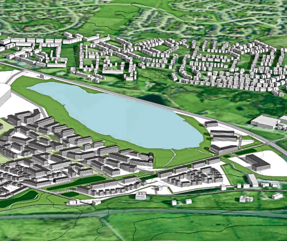 The new homes would be built near Loirston Loch