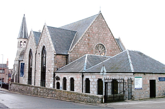 The Old Stoneywood Church on Bankhead Road, which dates back to the 1840s, has now been vacant for more than four years