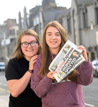 Erin Kindness, left, and Joanne McDonald were both award winners last year