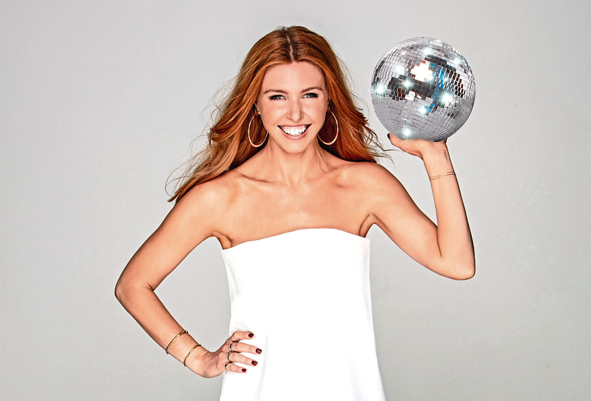 This year's show will be hosted by glitterball winner Stacey Dooley