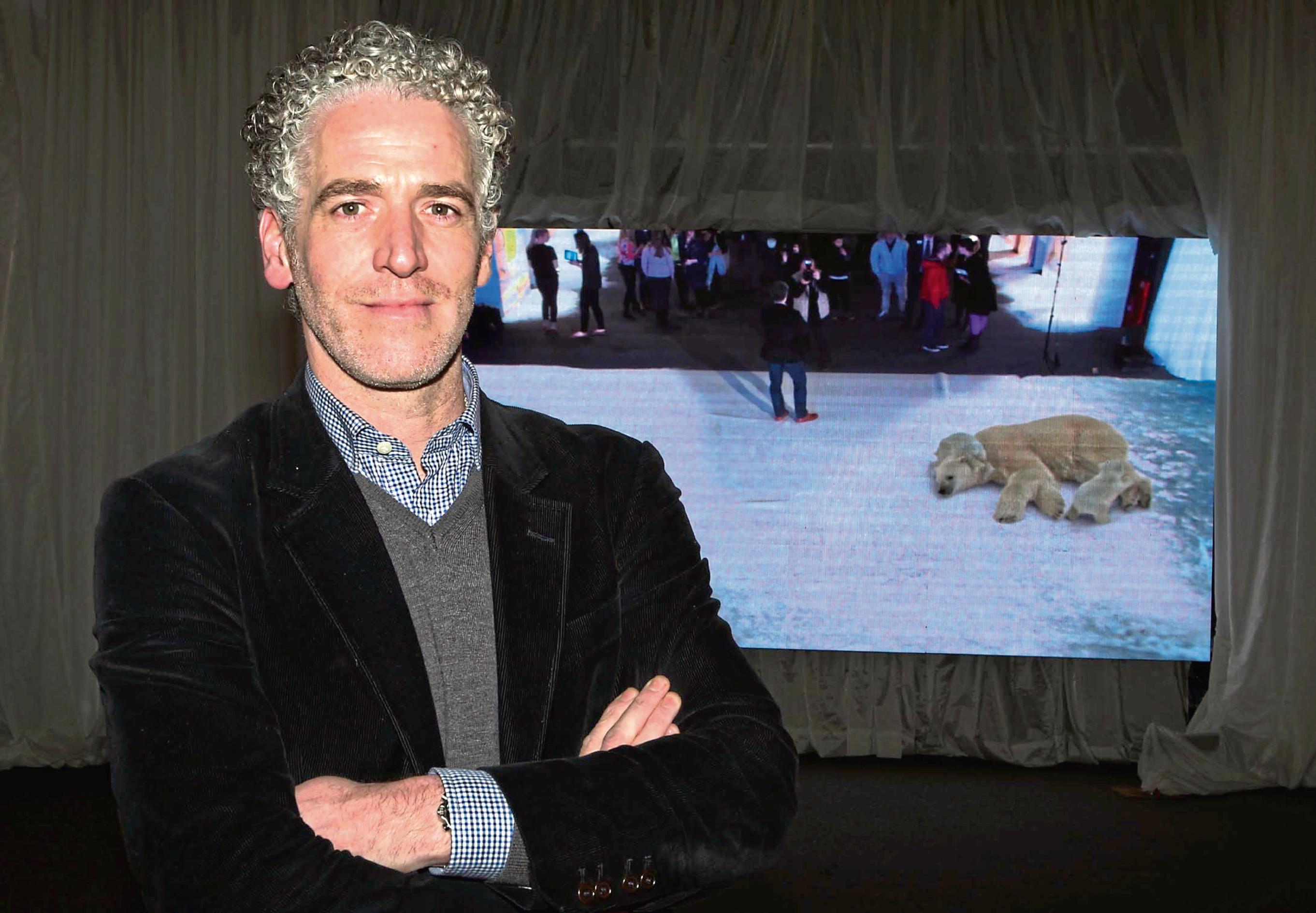 Wildlife cameraman Gordon Buchanan