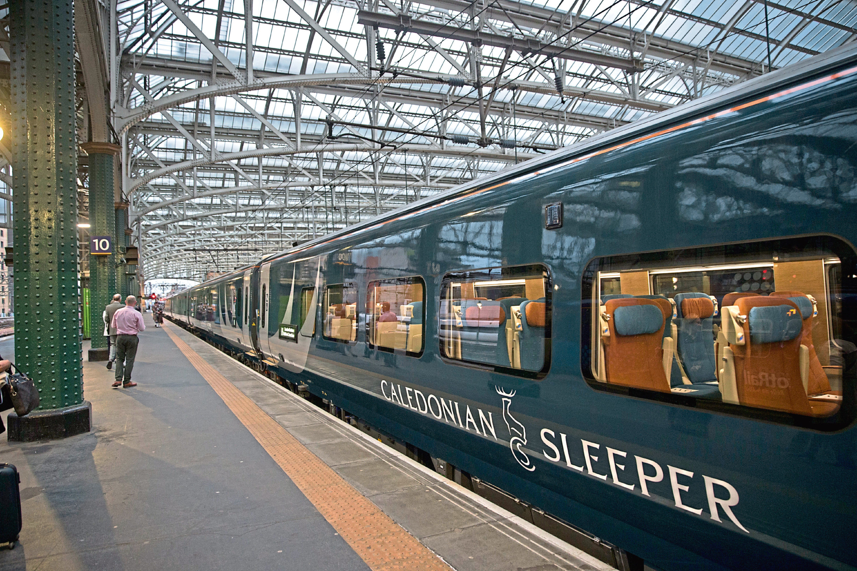 MP Andrew Bowie hopes the Caledonian Sleeper service between Aberdeen and London will restart soon