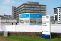 The site at Aberdeen Royal Infirmary