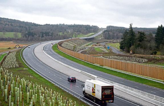 The Aberdeen bypass has been shortlisted