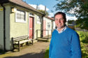 Pastor Barry Douglas and the former council depot that is undergoing transformation