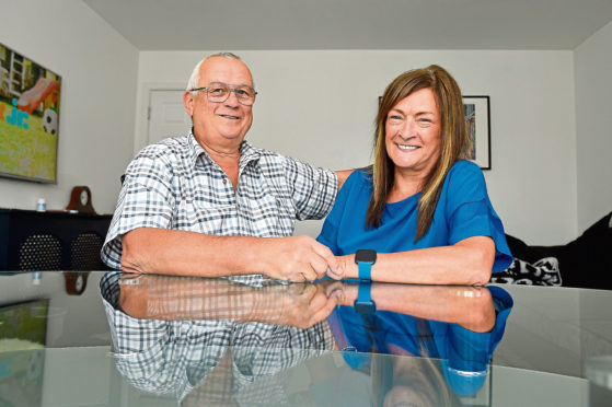 Steve and Jackie Hugill are urging anyone who notices any changes to their health to contact their GP