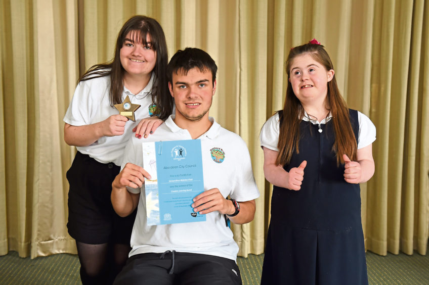 Rebecca Thomson, 17, Joshua Marshall, Courtney Reid, 17