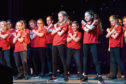 Kingswells Primary School performing. Picture by Kenny Elrick