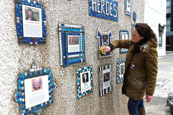 The Everyday Heroes mural on Flourmill Lane, Aberdeen is to be extended – with organisers looking for nominations of people to include