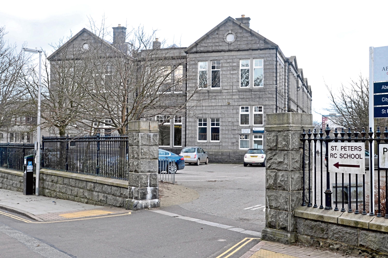 St Peter's RC Primary School on Dunbar Street