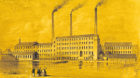 Lithograph of Broadford Works, 1842-1864