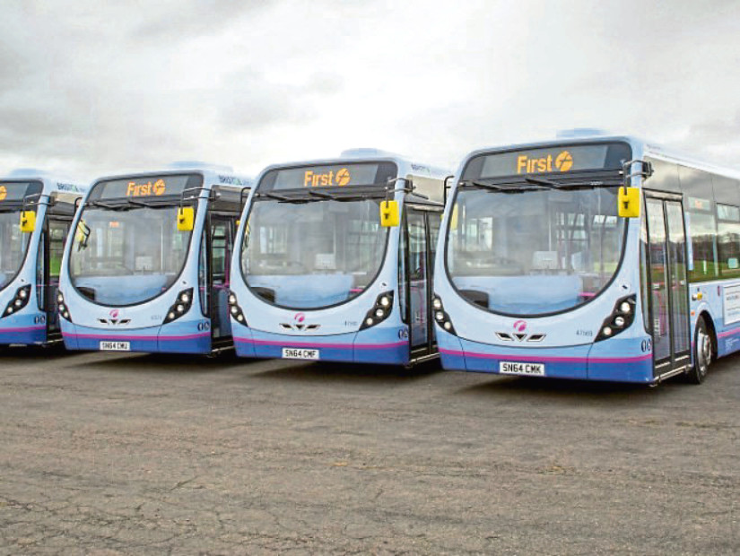 The new timetables will see increases in frequency on many First Aberdeen services