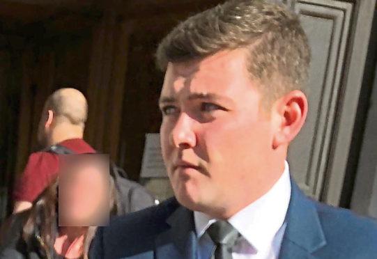 Scott Burnett was fined £750