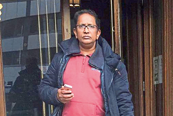 Jaimon Mathew was found guilty of sexual assault