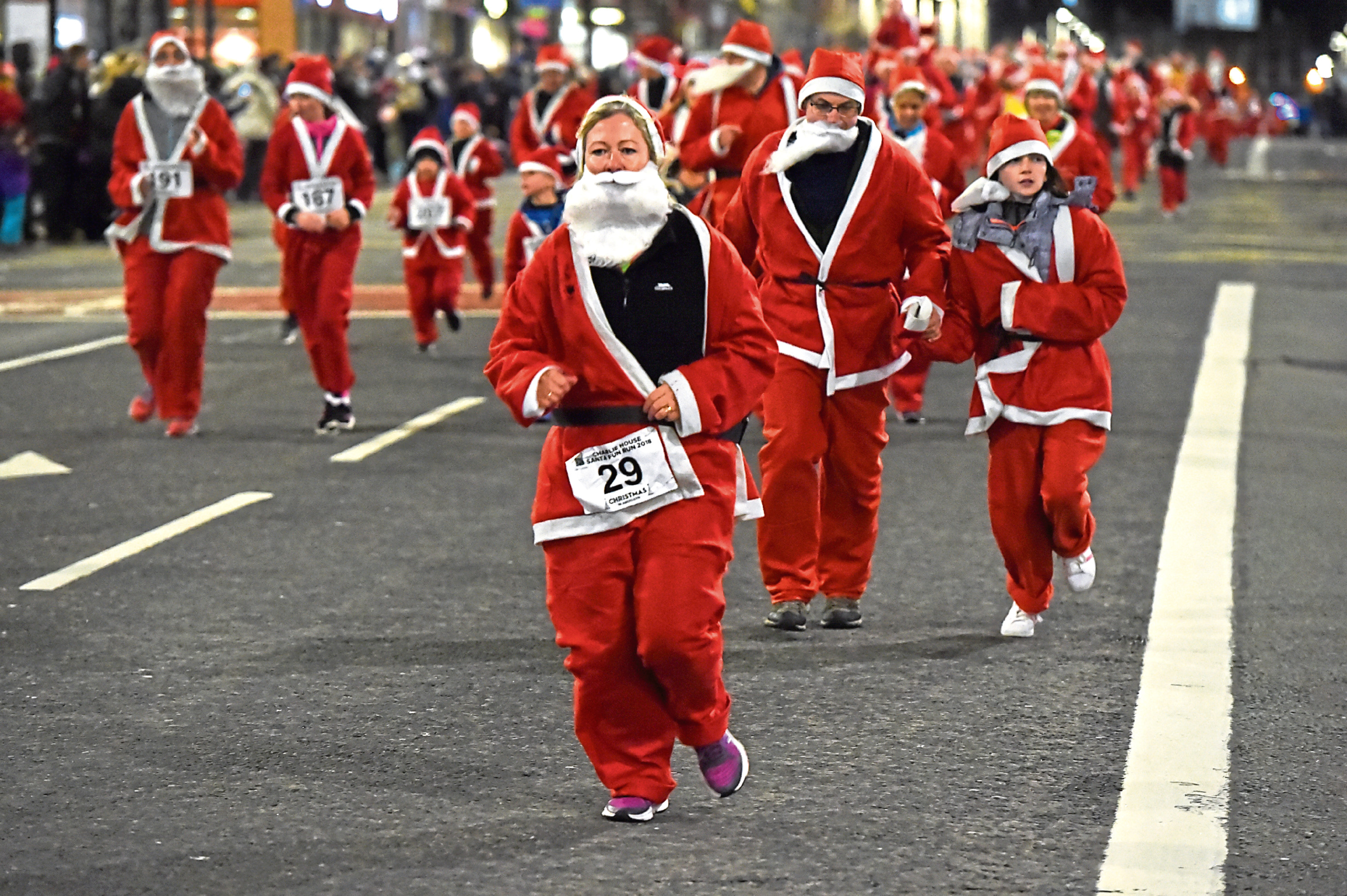 The annual Santa run will take place on November 24.