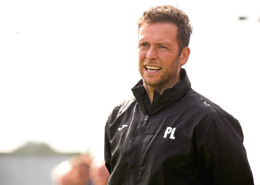 Formartine United manager Paul Lawson.