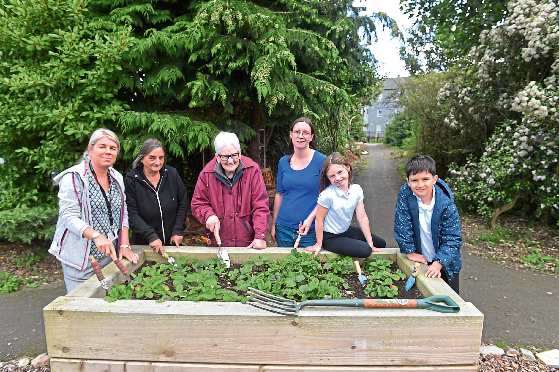 The Tullos Community Garden group