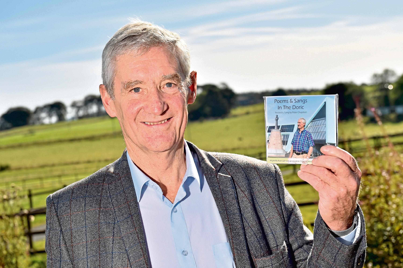 Peter Chapman with his Doric CD