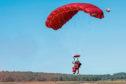 Happy landings for Sandy Cortmann, 97, on his return to Arnhem