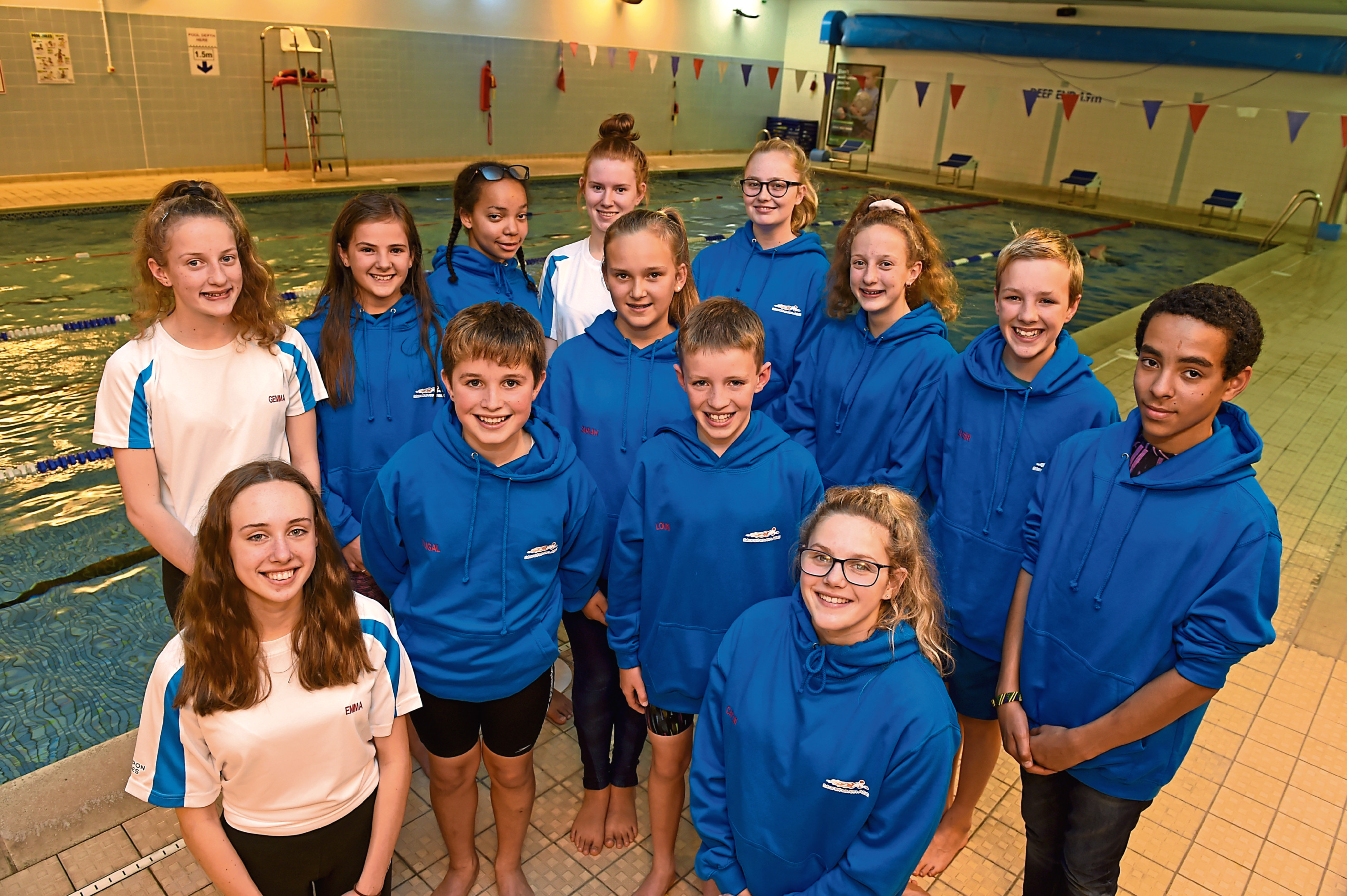 Swimmers from Stonehaven are counting the cost after a second year of travel woes Picture by Kenny Elrick