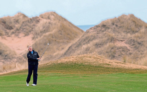 Colin Montgomerie at Trump International Golf Links