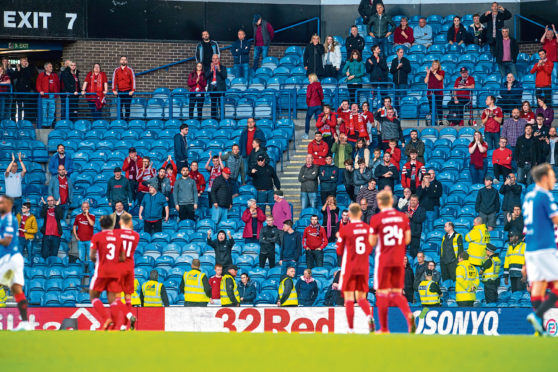 Aberdeen were mauled at Ibrox earlier in the campaign.