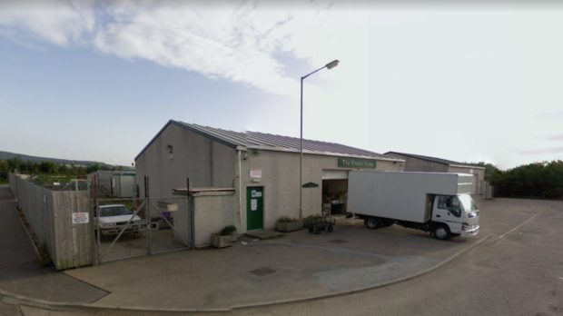 The March Road Industrial Estate in Buckie
