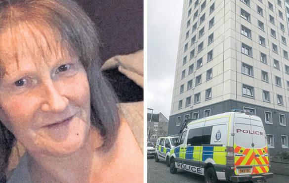 Margaret Robertson was found dead in her flat in Promenade Court