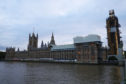 General view of the Palace of Westminster
