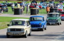 "The Grampian Transport Museums ""60 years of the Mini"" celebration. Picture by Kenny Elrick"