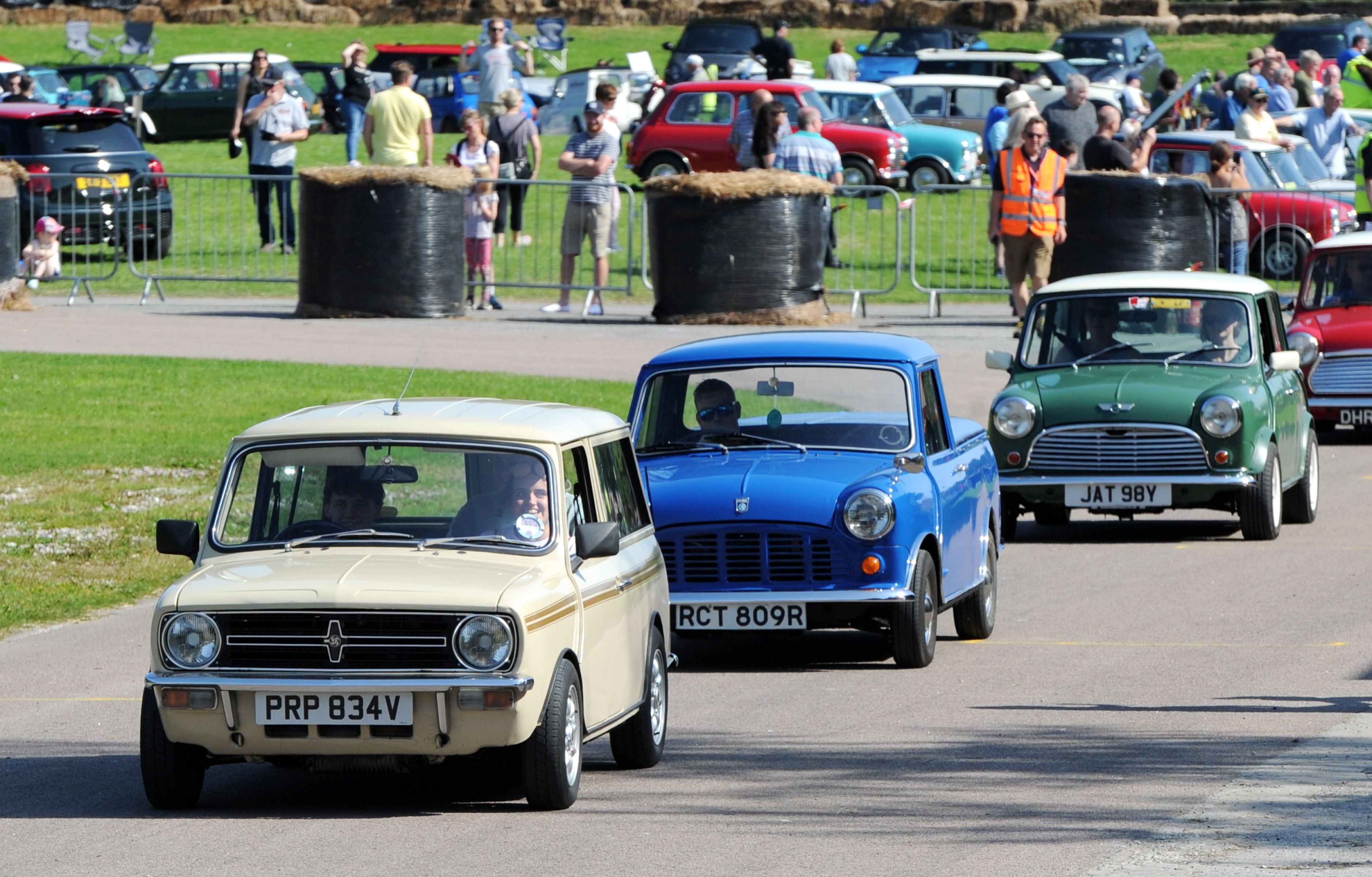 """The Grampian Transport Museums """"60 years of the Mini"""" celebration. Picture by Kenny Elrick"""