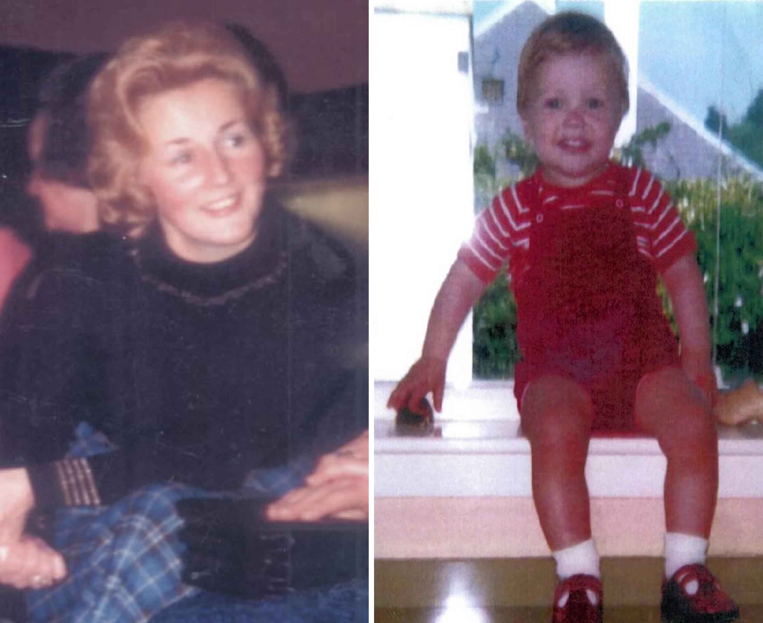 Renee MacRae, 36, and three-year-old Andrew Macrae