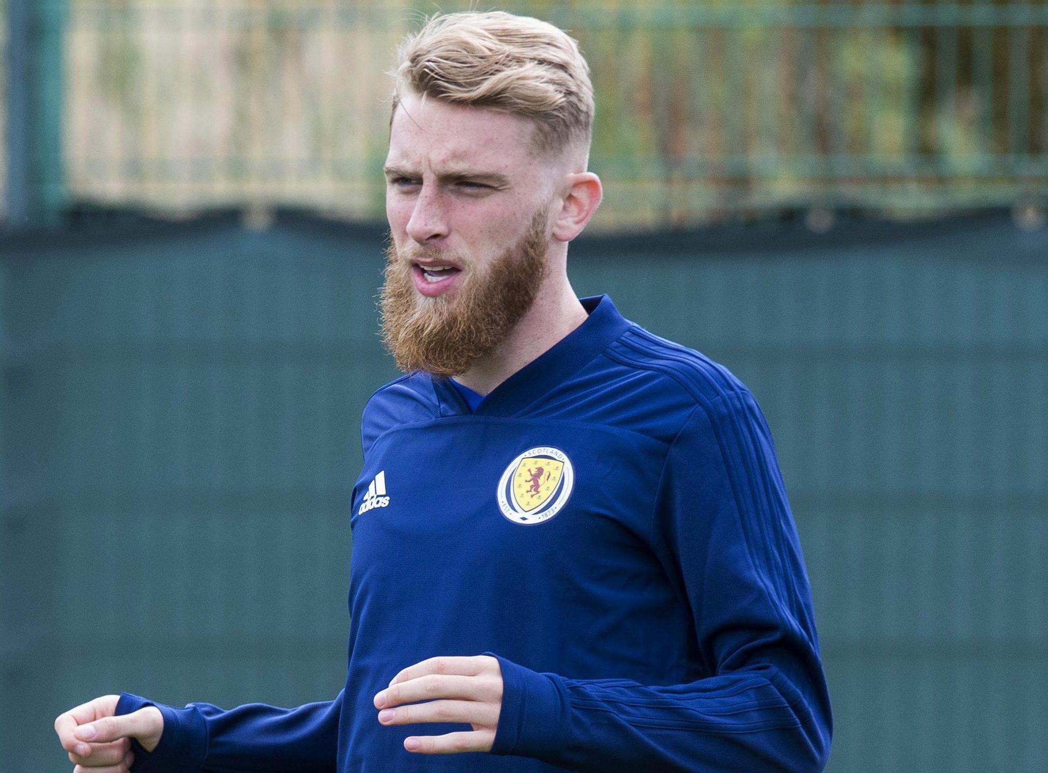 Scotland's Oli McBurnie.