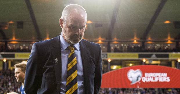 Scotland manager Steve Clark.