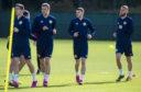 Scotland's Ryan Christie during a Scotland training session at Oriam